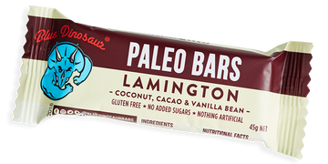 Paleo Bars - Lamington - Blue Dinosaur - Pop Up Kindness