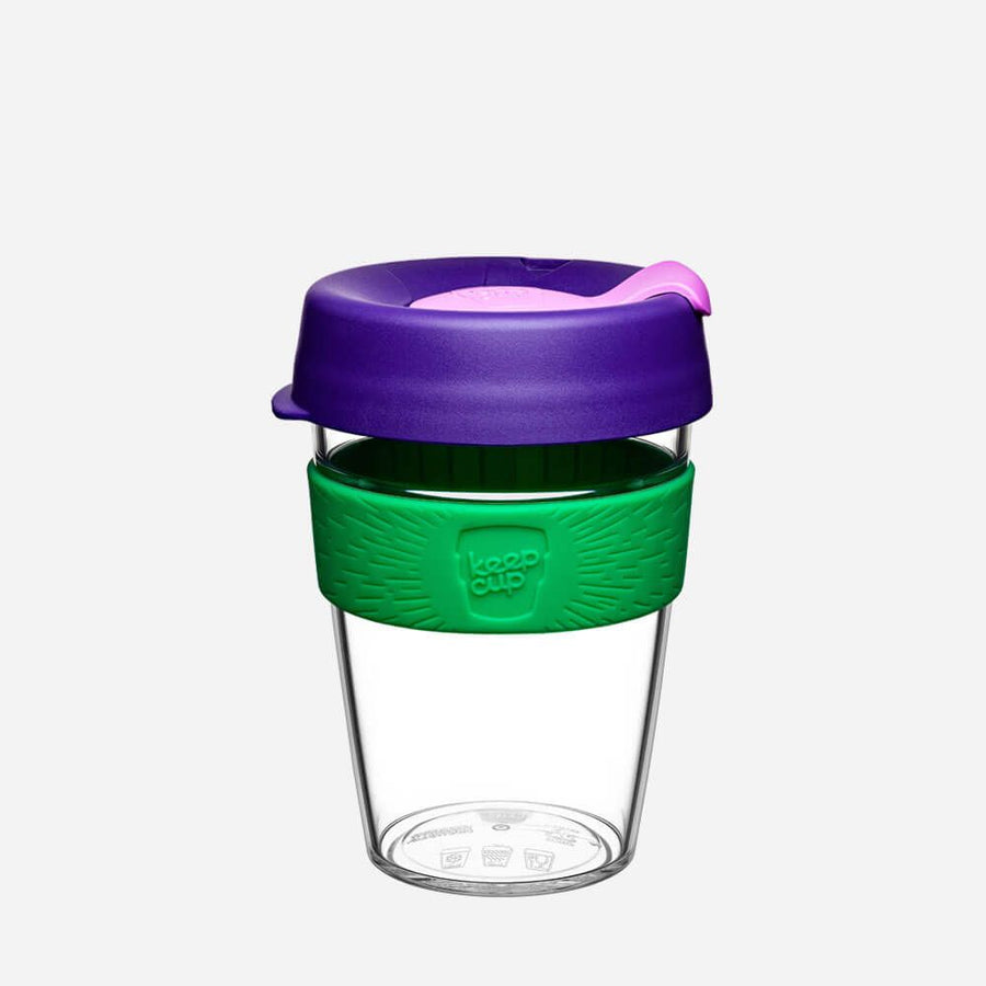 KeepCup Clear Edition 12oz - Spring