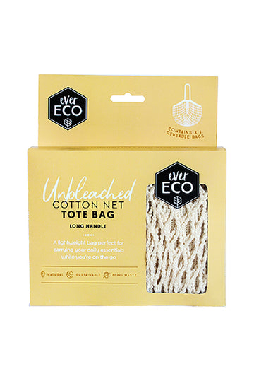 Ever Eco Organic Cotton Net Tote Bag With Long Handle