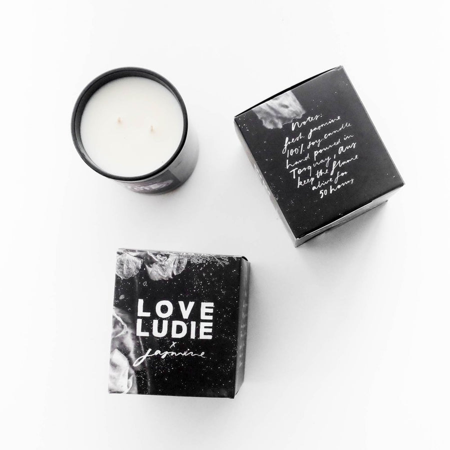 Jasmine Dowling x Love Ludie Mini Candle - Love Ludie - Pop Up Kindness