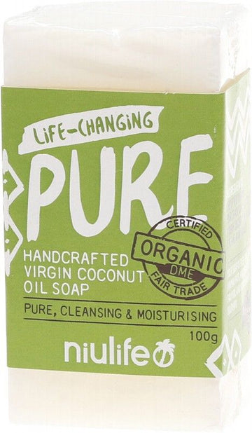 Niulife Pure Virgin Coconut Oil Soap 100g