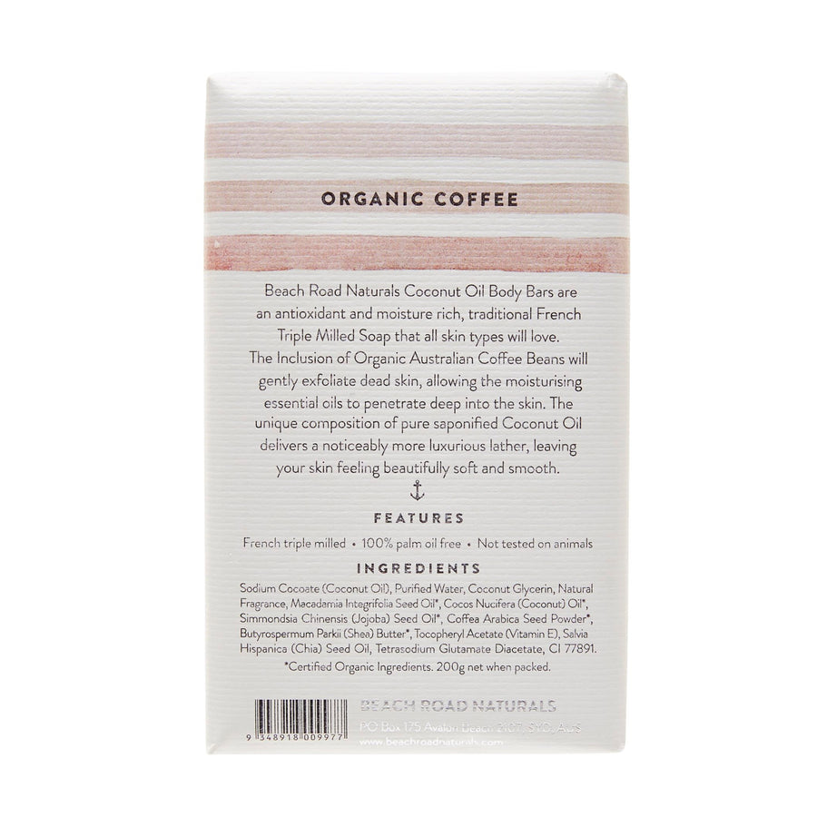 Coffee Body Bar 200g