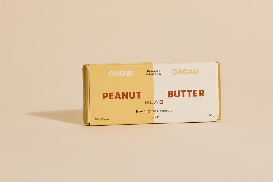 Chow Cacao Peanut Butter Slab