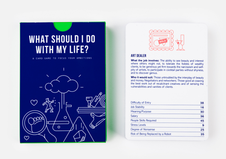 What Should I Do With My Life? - The School Of Life - Pop Up Kindness