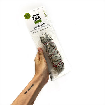 Luvin Life Smudge Stick White Sage - Small 16cm