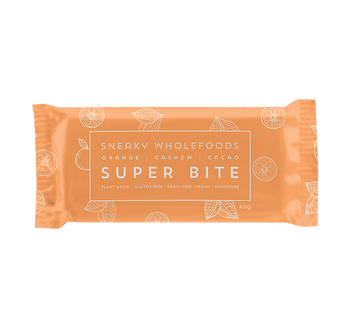Orange Cashew Cacao Sneaky Super Bites - Sneaky Wholefoods - Pop Up Kindness