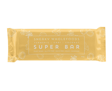 Turmeric Chai Coconut Super Bar - Sneaky Wholefoods - Pop Up Kindness