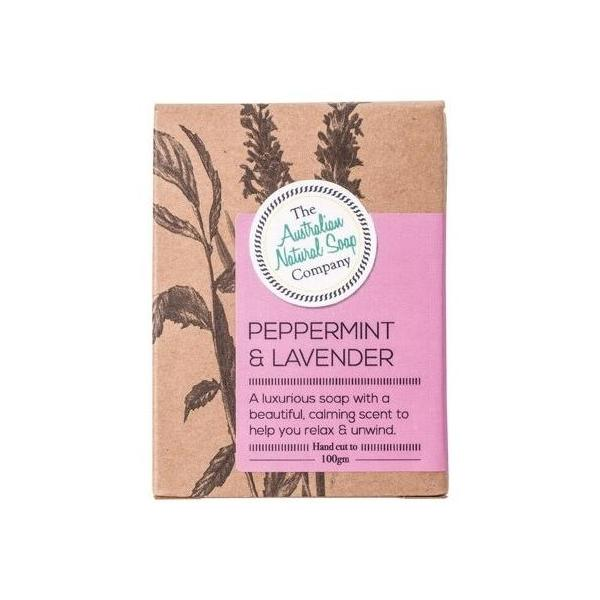 Australian Natural Soap Company Peppermint & Lavender 100g