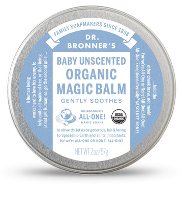 Organic Magic Balm - Baby Unscented - Dr Bonners - Pop Up Kindness