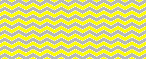 Grey and Yellow Chevron