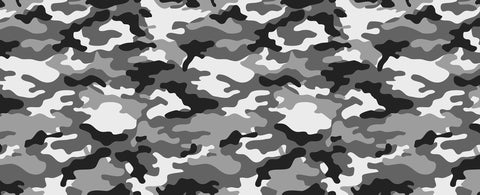 Camouflage Black and White
