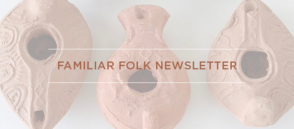 familiar folk newsletter signup banner