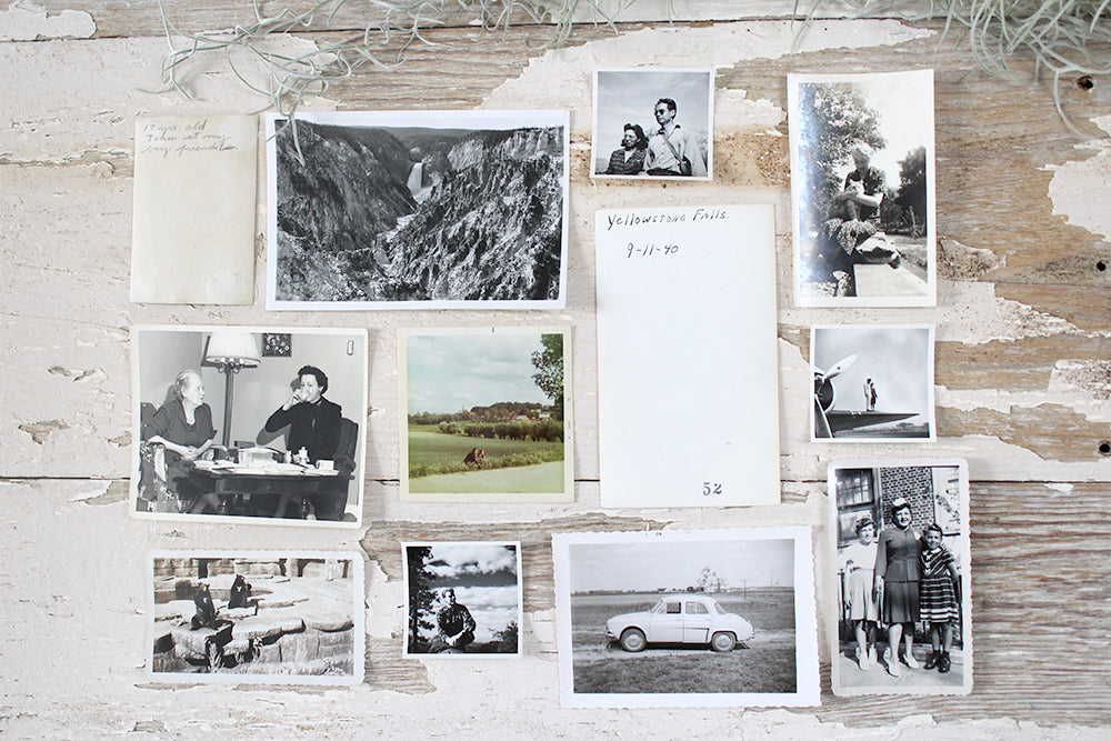 Surprise 10-pack of Original Vintage Photographs