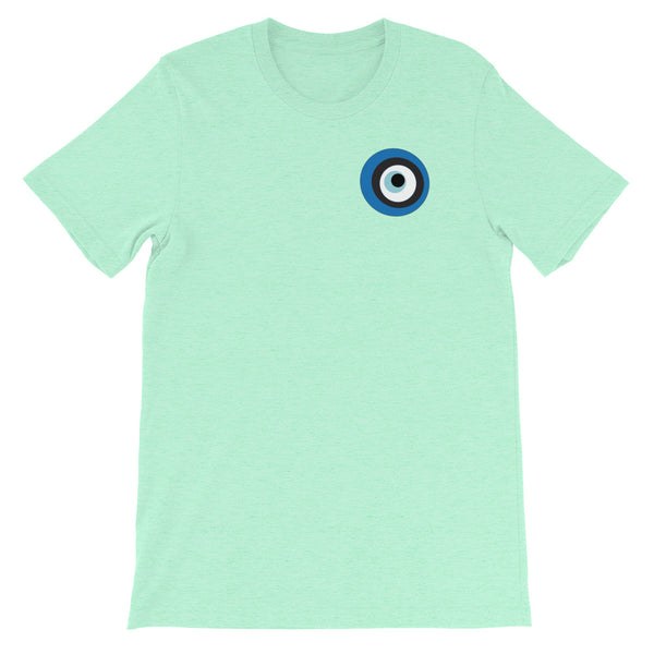 Evil Eye Mint Short-Sleeve Unisex T-Shirt