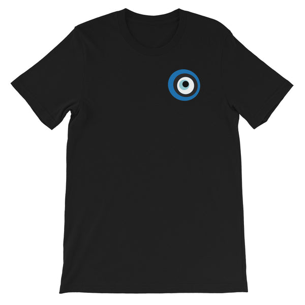Evil Eye Black Short-Sleeve Unisex T-Shirt