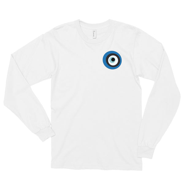 Evil Eye White Long sleeve t-shirt
