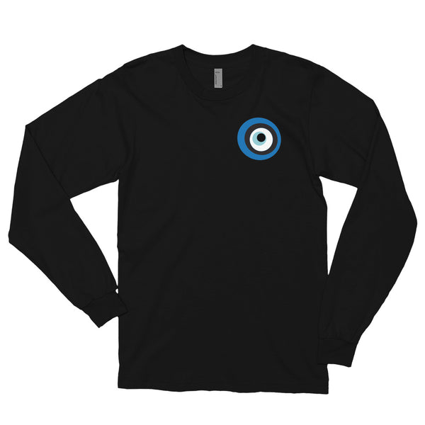 Evil Eye Black Long sleeve t-shirt