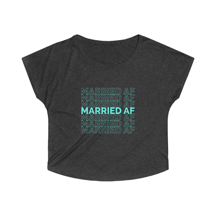 Married AF Women's Tri-Blend Tee