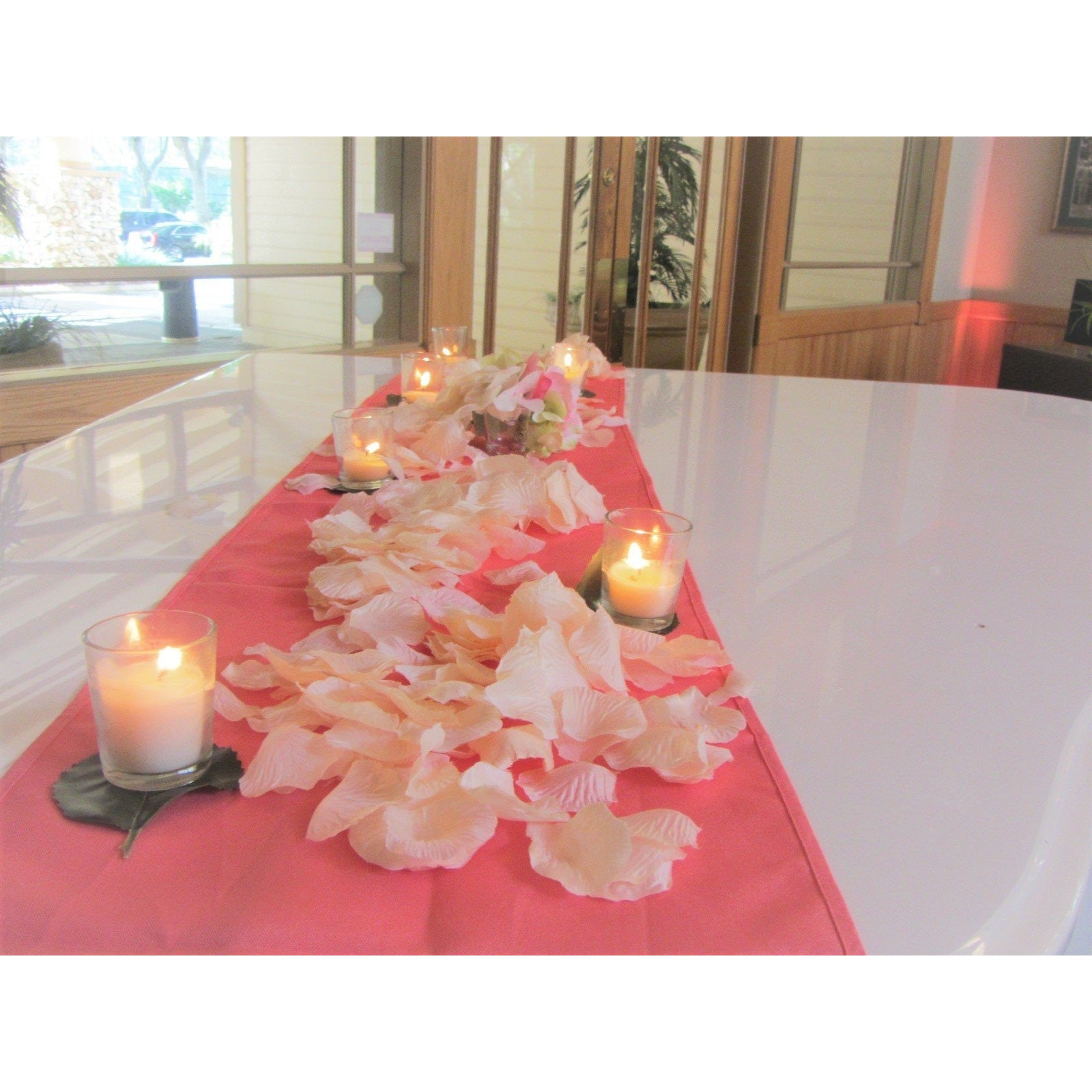 5 Coral Table Runners