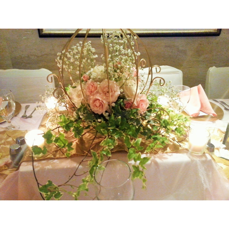 Fairytale Carriage Centerpiece