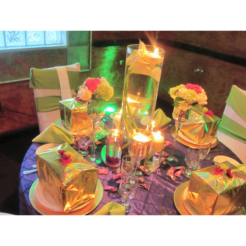 5 Lime/ Apple Green Chair Sashes