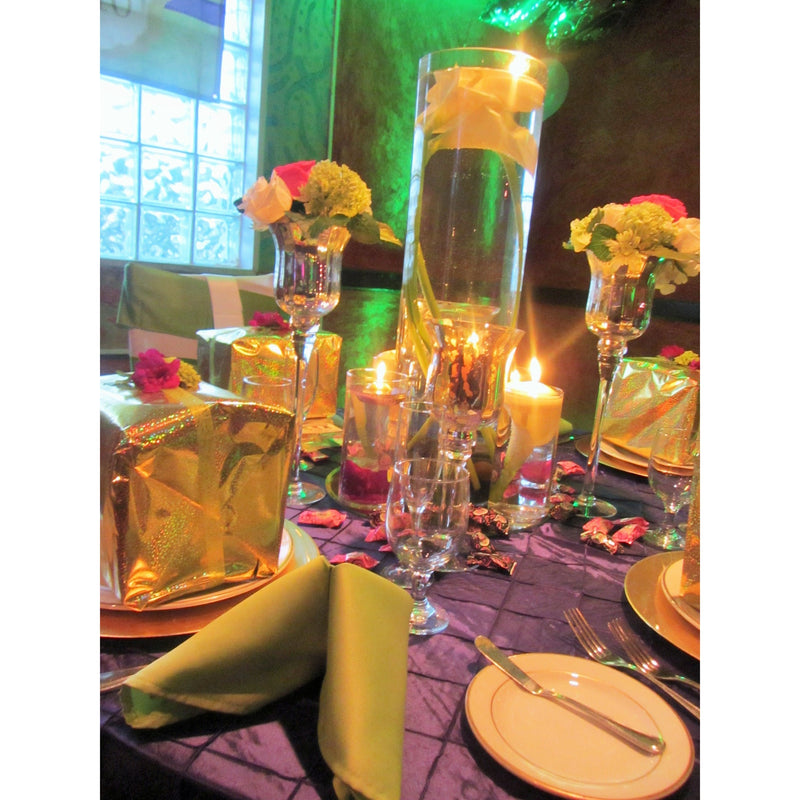 5 Lime/ Apple Green Napkins