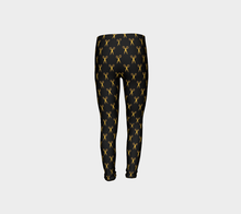 Leggings Siceaux d'or