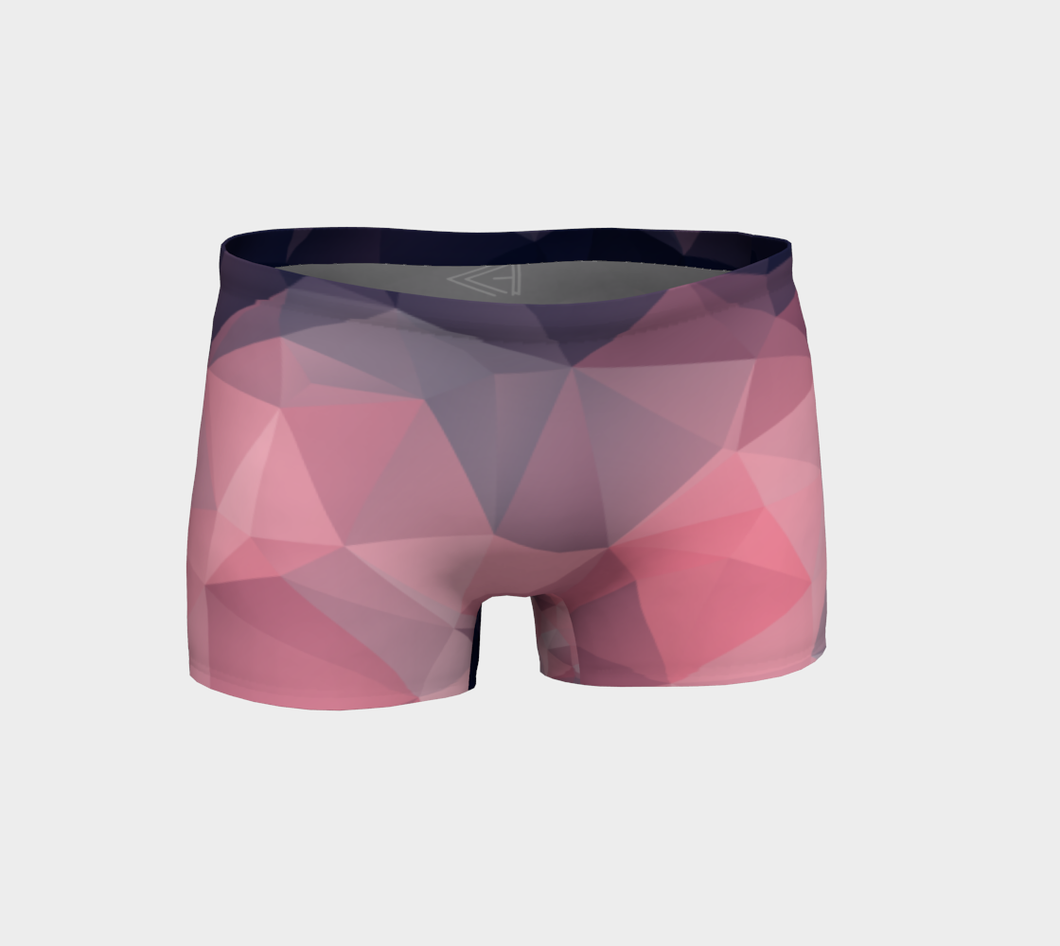 Mini short rubis
