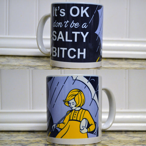 Salty Bitch Coffee Mug - Funny Mug - Girlfriend - Mature - BFF - Bitch Mug - Funny Coffee Mug - Salty Bitches, Christmas Gift