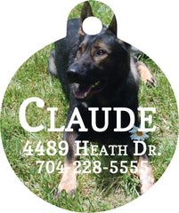 Personalized Pet Tag - Handmade in Harrisburg
