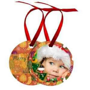 Round Photo Ornament - Handmade in Harrisburg