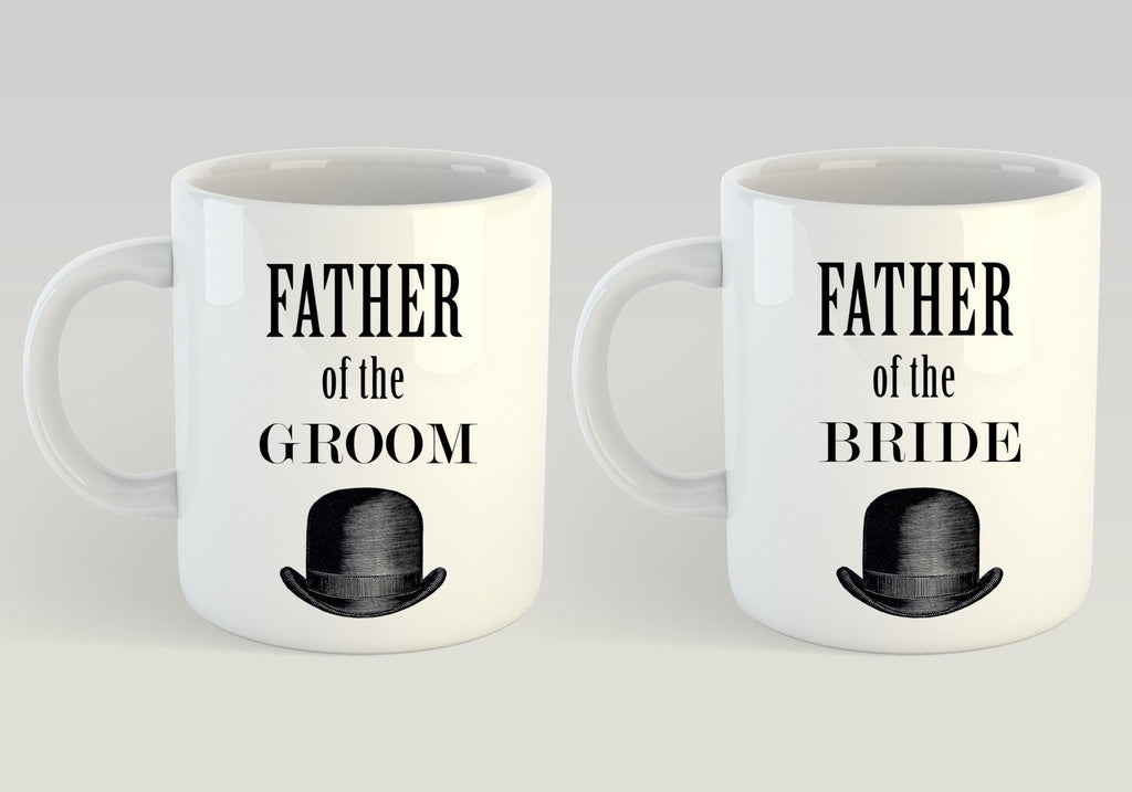 Father of the Bride Mug, Father of the Groom Mug, Father of the Bride and Groom Gifts, Bride and Groom Mugs, Bride Mug, Groom Mug, Mug Set