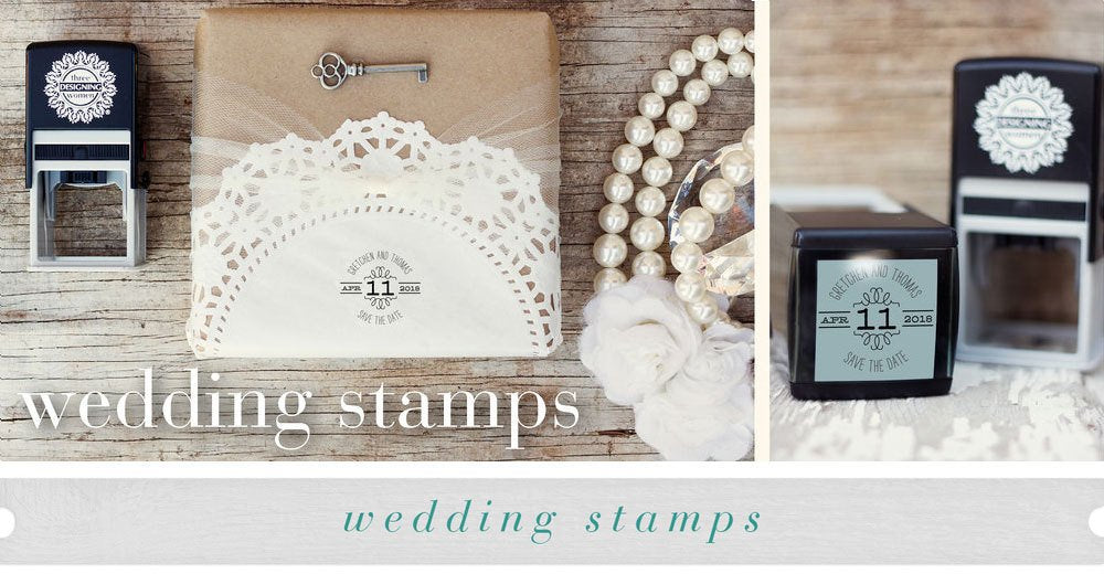 Buy Personalized Save The Date Stamp