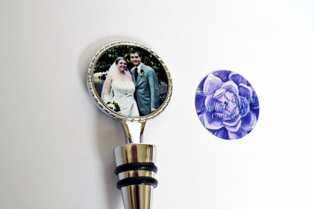 Personalized Wine Stopper, Wine Wedding Favor, Custom Wine Stopper Wedding Favors, Winery, Wedding Gift, Bridesmaid Gifts, Wedding Party