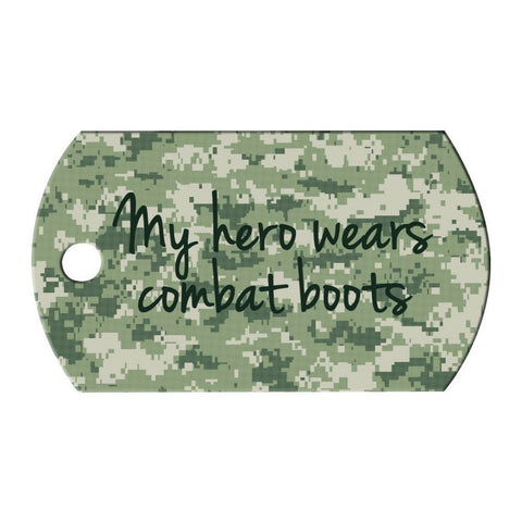 Personalized Dog Tag, Any Quote or Photo, Photo Dog Tag, Custom Dog Tag, Deployment Gift, Gift for Her, Gift for Him, Gift for Kids