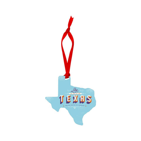 Texas Shaped Ornament