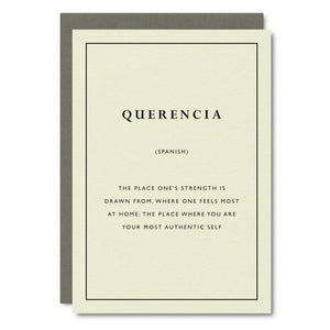 Little City Love - Querencia Card