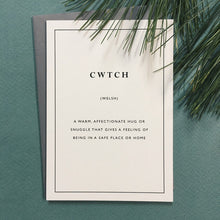Load image into Gallery viewer, Little City Love - Cwtch Card