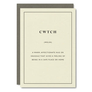 Little City Love - Cwtch Card