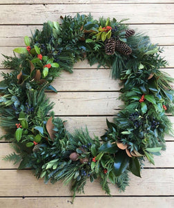 Southern Winter Holiday Wreaths