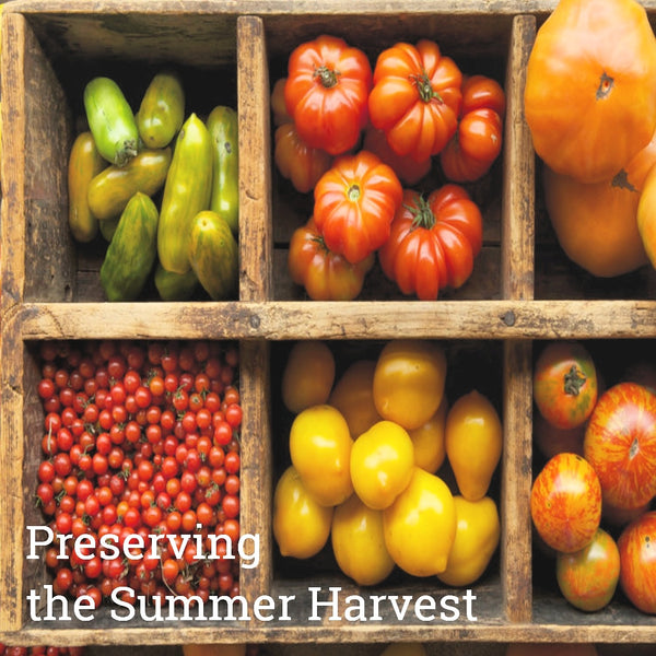 Preserve the Harvest Class