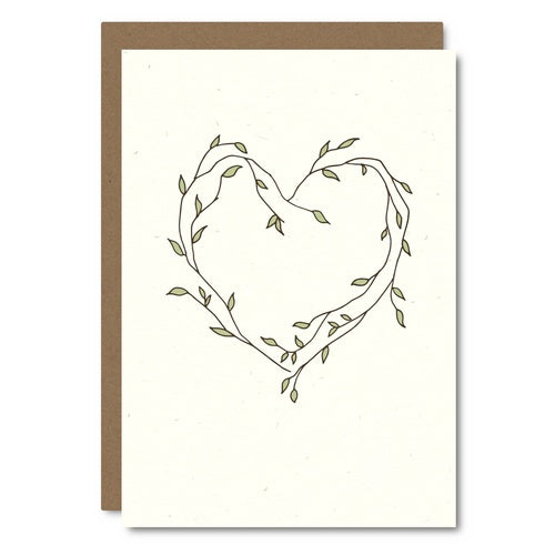 Little City Love - Heart Vine Card