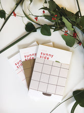 Load image into Gallery viewer, Sunny Side 2019 letterpress calendar