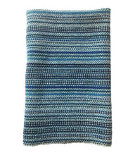 Load image into Gallery viewer, Modern Stripe Napkins - Blues + Cerulean Set of 2