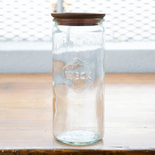 Load image into Gallery viewer, Cylindrical Weck Jar