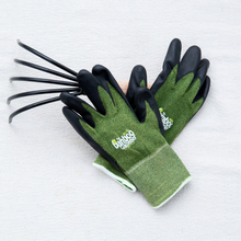 Load image into Gallery viewer, Nitrile Palm Bamboo Garden Glove