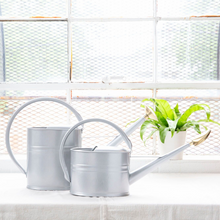 Load image into Gallery viewer, Haws Slimcan Galvanized Metal Watering Can