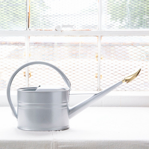 Haws Slimcan Galvanized Metal Watering Can