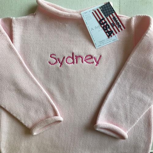 Rollneck Sweater Infant & Toddler Sizes