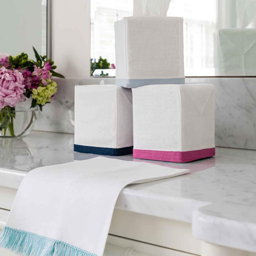Double Happiness Tissue Box Cover - Assorted Colors